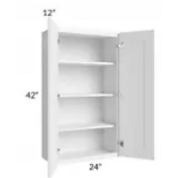 Maple Off-White Shaker Wall Cabinet W3342