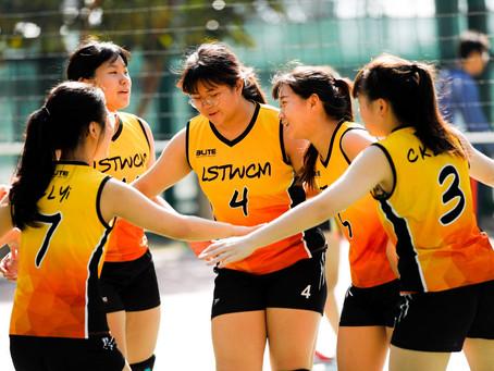 【學生成就】女甲排球搶先以全勝姿態進入下一圈比賽