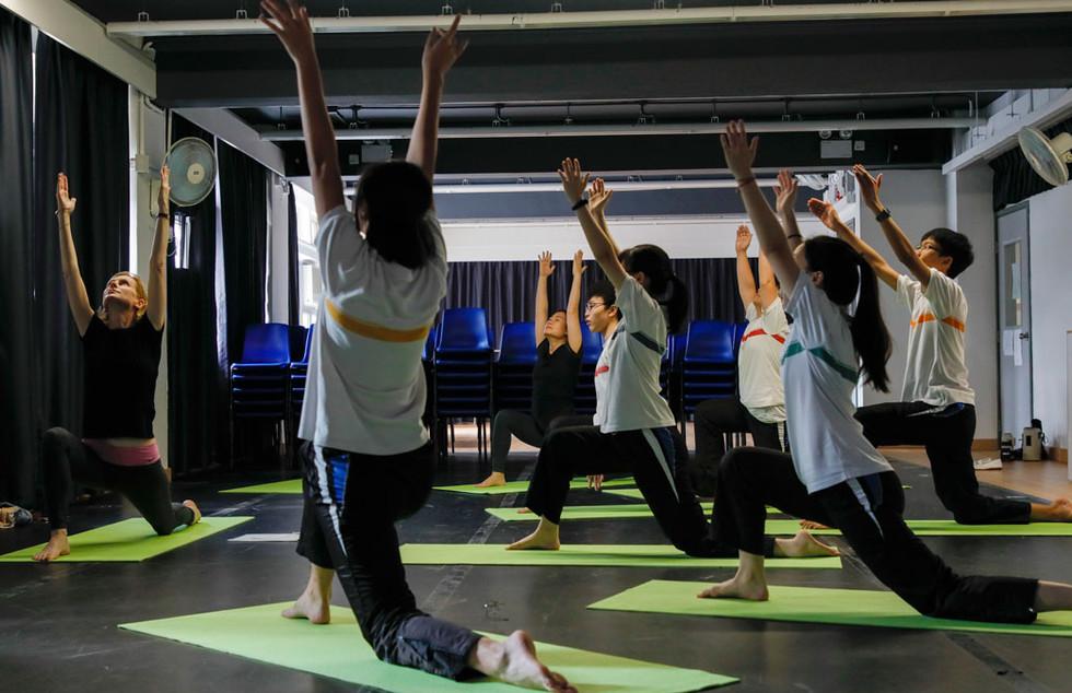 English Yoga
