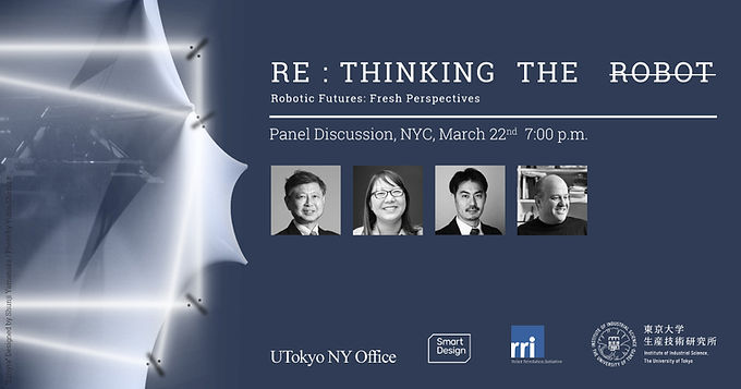 Panel Discussion New York / RE : THINKING THE ROBOT