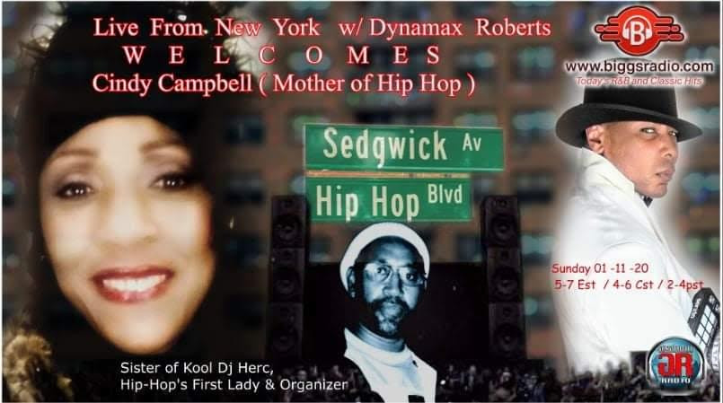 Mother of Hip Hop Cindy Campbell