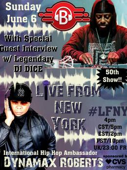 LFNY June 6 DJ Dice