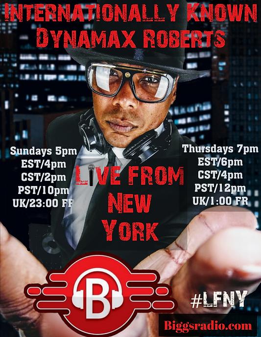 Internationally Known Dynamax Roberts