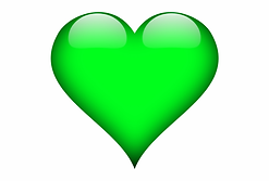 green-3d-heart-png-green-heart-transpare