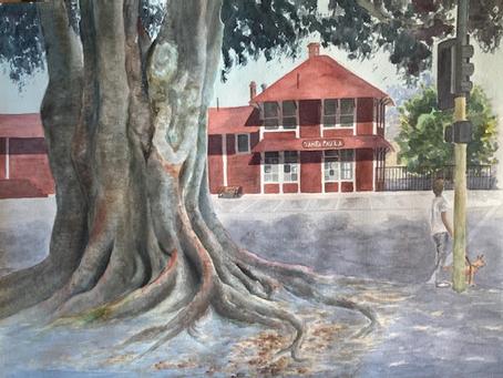 Watercolor paintings by Chiyoko Nishimori (Jeanett's Mother)