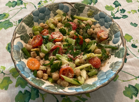 [Heavenly Recipe] Marinated Celery Salad by Jeanette Nishimori