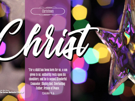 Christmas Eve Candle Lighting Service (ONLINE)