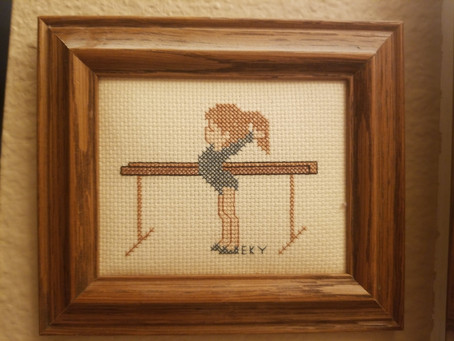 Needlepoint by Fay's Niece Kimberly & Daughter in Law Lori