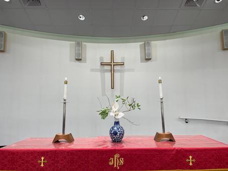 Order of Worship May 23, 2021