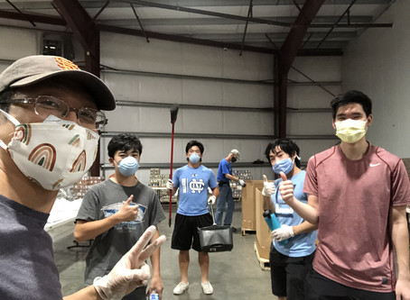 Youth Volunteering at Community Food Bank