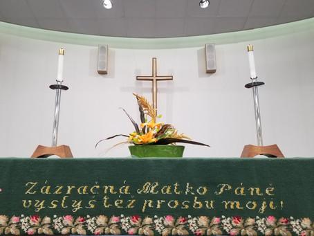 Order of Worship June 27, 2021