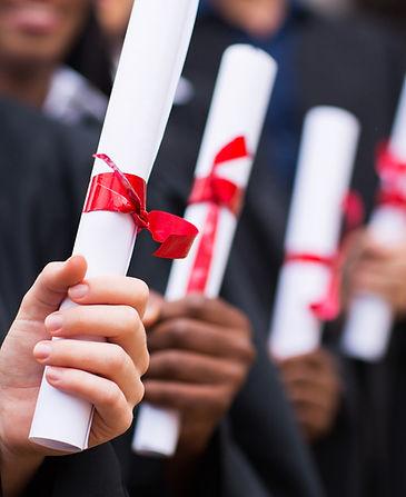 Graduados diplomas