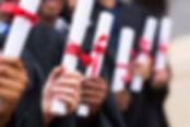 Diplômés titulaires de diplômes