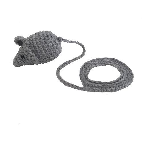 Rato de Crochê com Catnip