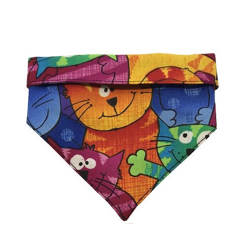Bandana Colorful Cats