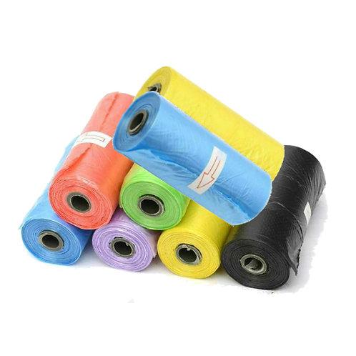 Poop bag refill 8x15 bags rolls