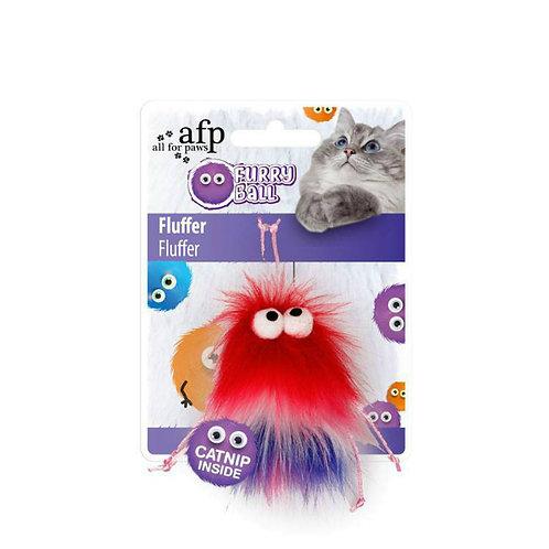Monstro vermelho com catnip
