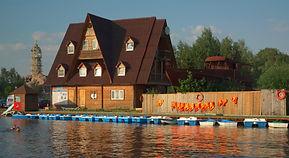 Дом у озера Green Beach «Троицкое»