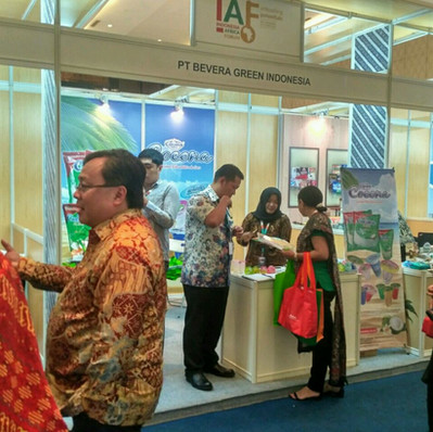 Cocona in Asia Afrika Forum