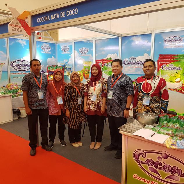 Cocona Trade Expo Indonesia Team