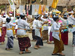 Balinesisches Dorffest