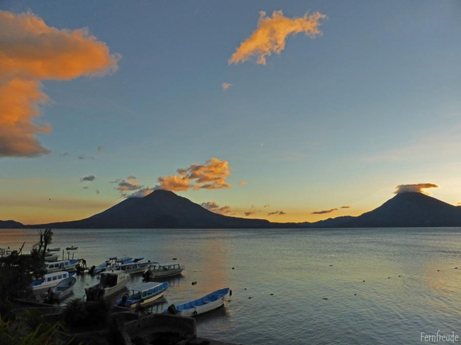 Sonnenuntergang am Atitlansee