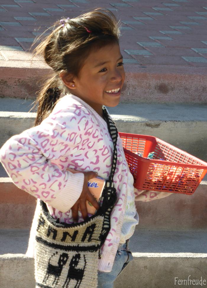 Mädchen in Solola