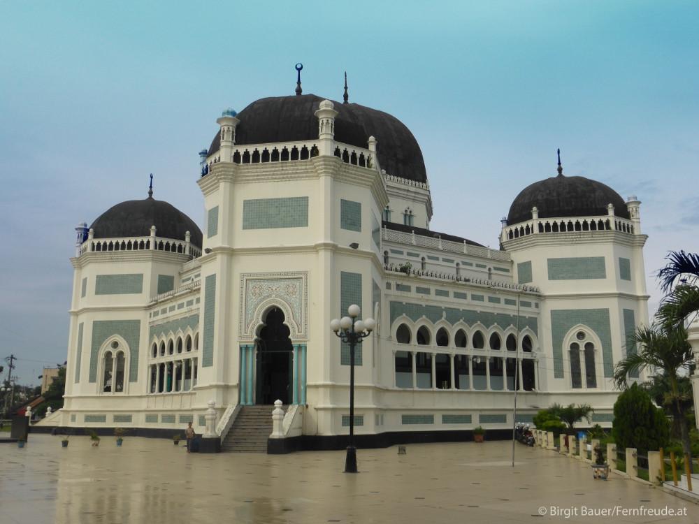 Die Große Moschee von Medan