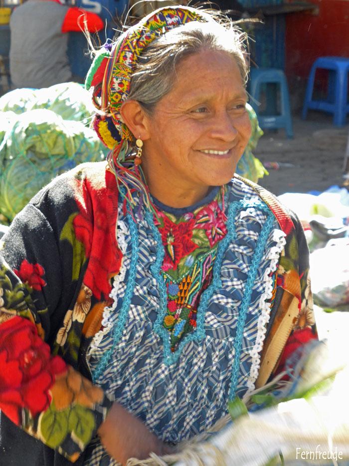 Obstmarkt in Almolonga
