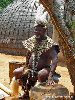 Zulu-Häuptling