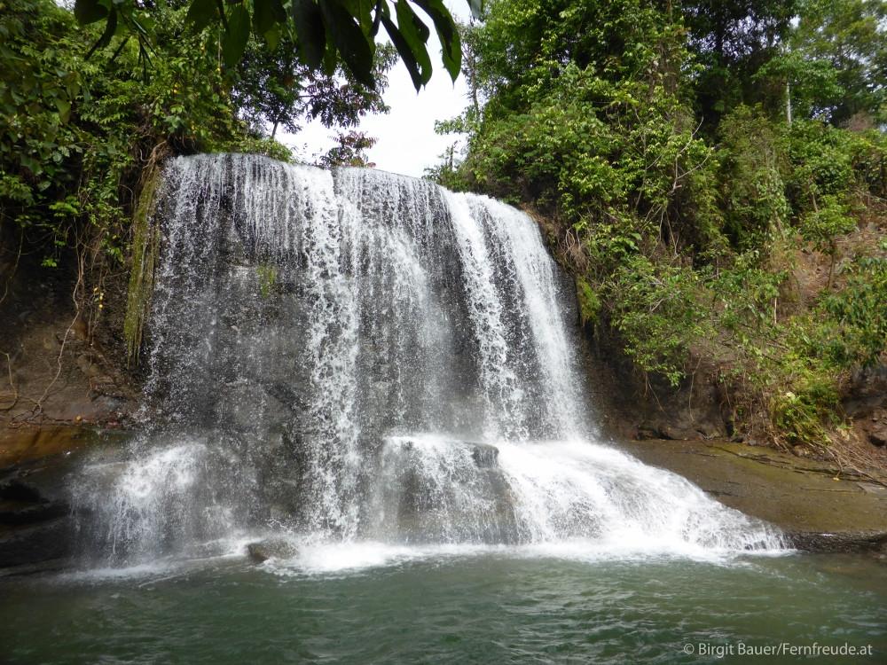 Ein Wasserfall zum Schwimmen und träumen