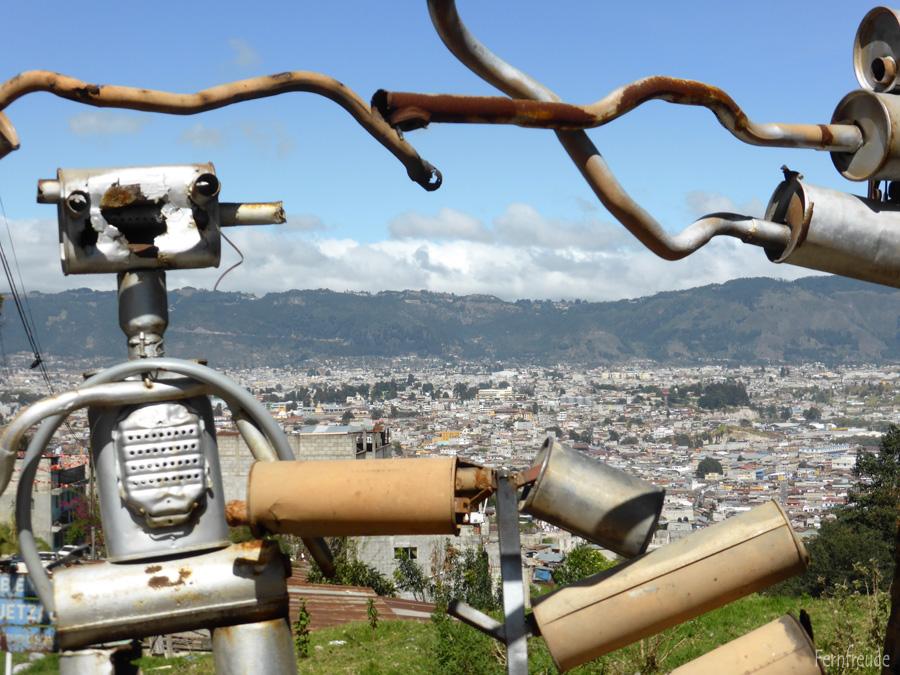 Ein erster Blick auf Quetzaltenango