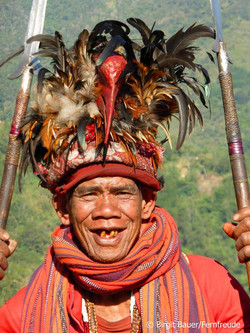 Bergvolk der Ifugao