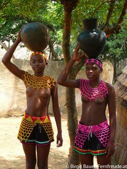 Zulu-Mädchen