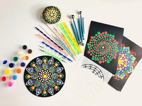 Mandala dotting kit