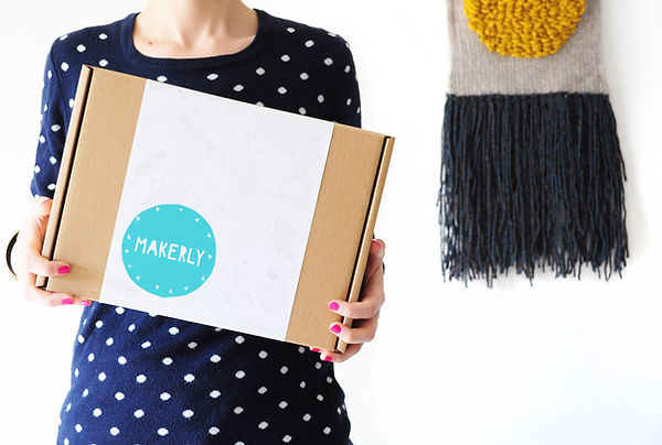 Monthly craft kit subscription box