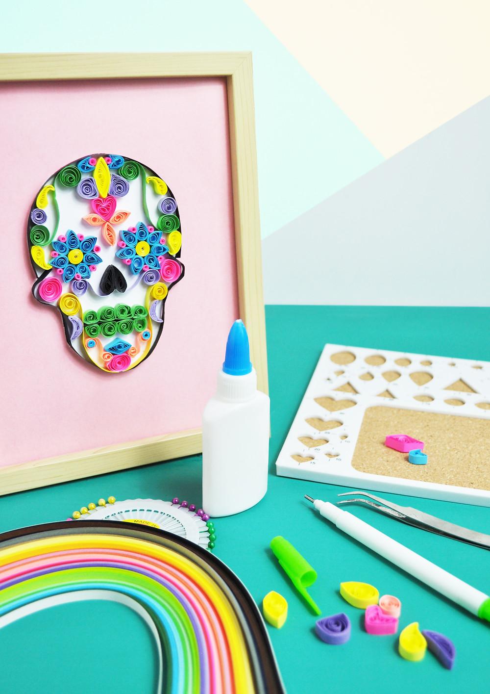 Sugar Skull Quilling kit