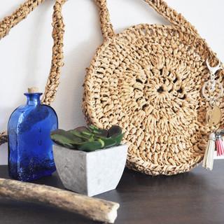 September 2019 - Crochet Raffia Bag