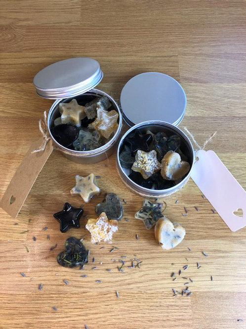 Moroccan chai tea sugar scrub and soap gift making kit