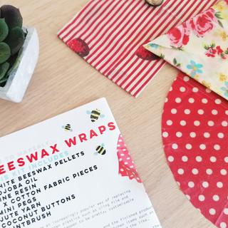 Beeswax wraps kit