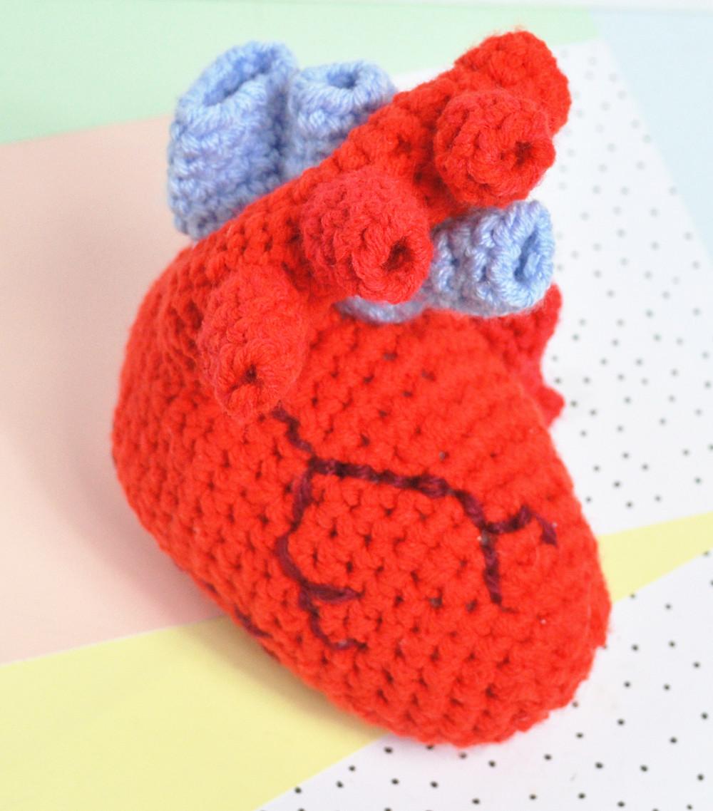 Crochet Human Heart