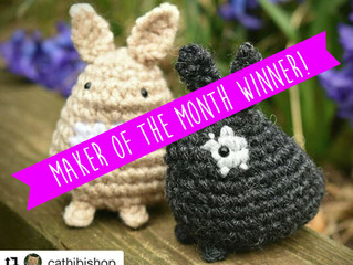Maker of the Month - March's Bunny Nuggets