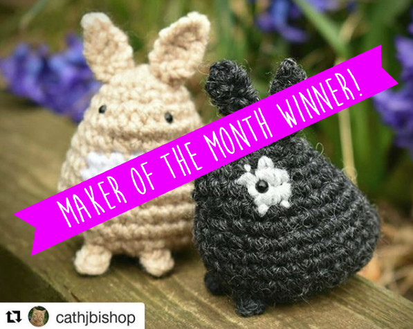 Make your own crochet bunny