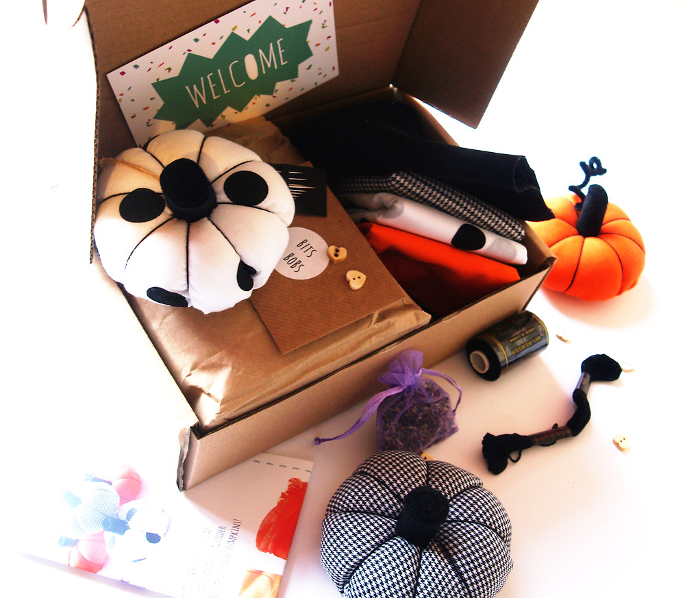 Make your own scented pumpkin craft kit
