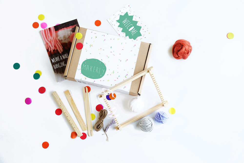 Weaving craft kit