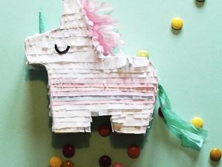 Octobers Paper-Cut craft kit: How to make Mini Pinatas!