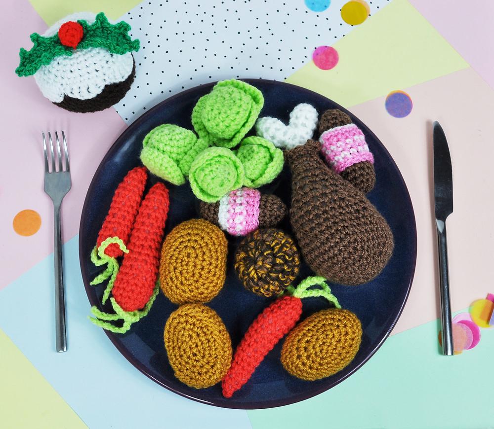 Crochet Christmas Dinner Pattern
