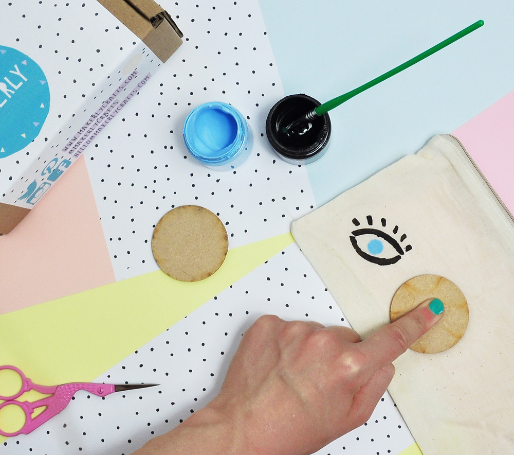 Make your own fabric stamps