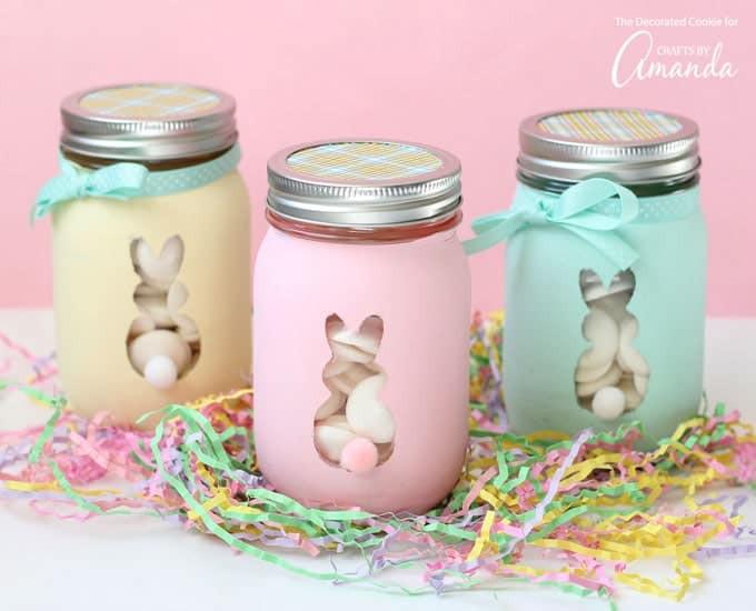Easter Mason Jar