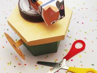 """April's """"Paper Cuts"""" box - Paper Automata's"""